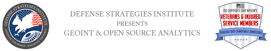 Geospatial Intelligence Summit | DEFENSE STRATEGIES INSTITUTE